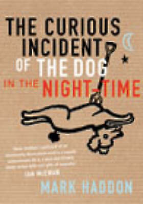 """""""VERY GOOD"""" The Curious Incident of the Dog in the Night-time, Haddon, Mark, Boo"""