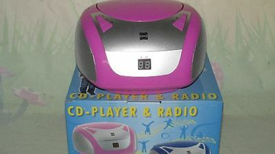 Busch CD Player und Radio in pink 2743
