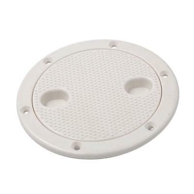 4 Inch Access Hatch Round Inspection Hatch Cover for Boat & RV Marine White