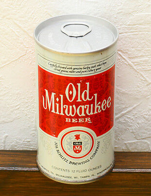 Old Milwaukee 1975 beer can empty