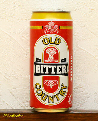 Old Country 1993 beer can empty