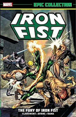 Iron Fist Epic Collection: The Fury Of Iron Fis by Roy Thomas New Paperback Book