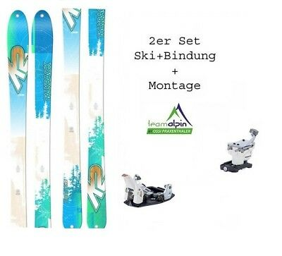 K2 TalkBack 88 17-18 freeride- and Touring Skis + Dynafit Speed Turn Binding