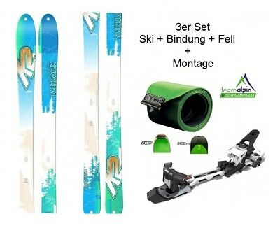 K2 TalkBack 88 freeride- and Touring Skis + Hagan Z02 Binding + Matching K2