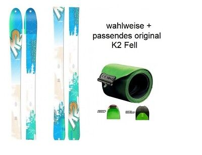 K2 TalkBack 88 17/18 freeride-und Touring Skis + Optional Matching Original