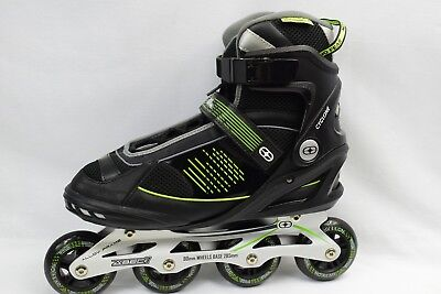 No Fear Alloy   Fit Inline Men's  Skates  Roller Brand New Size Uk 11 (44)