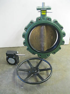 "16"" Crane Center Line Lug-Style DI Gear Operated 200 Butterfly Valve Z28 (2216)"