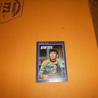 George Takei is an American actor, director, author Hand Signed Card