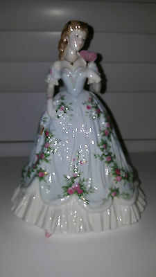 Royal Worcester Queen Of Hearts Figurine Ltd Edition Excellent Conditn Preowned