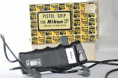 Nikon Pistol Grip with micro switch connect cord for F-36 F 36 F-250 Motor Drive