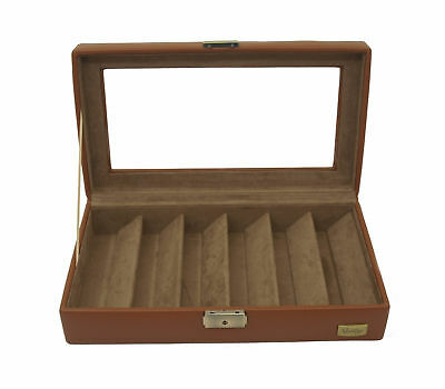 Cordays Handmade 6 Slot Sunglass & Eyeglass Organizer Display Box CDM-00027P