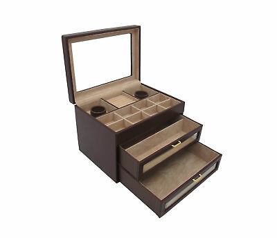 Cordays Handmade Premium Large Desk Jewellery Storage Box CDL-10019P