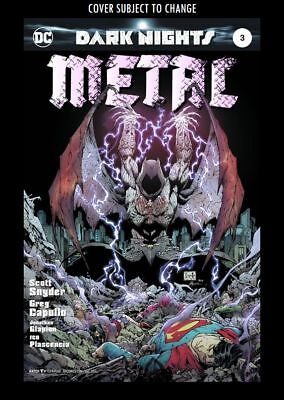 Dark Nights: Metal #3A - Shiny Foil (Wk41)