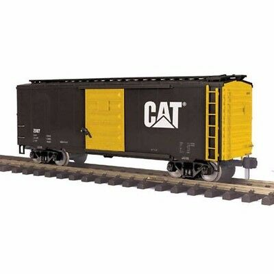 RailKing One Gauge 20-80007F 40' Box Car Caterpillar #2007 MIB **