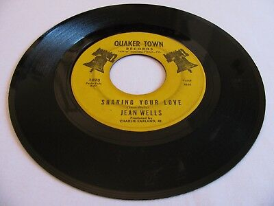 Jean Wells - Sharing Your Love / Song Of The Bells - Quaker Town