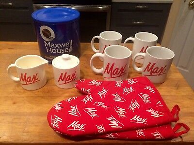"""Max"" Maxwell House collector Lot"