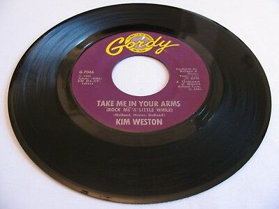 Kim Weston - Take Me In Your Arms (Rock Me A Little While) / Don't... - Gordy