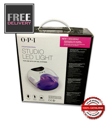 OPI Gel Studio LED Light Cured Collection - FAST CURING NAIL LAMP - FREE P&P