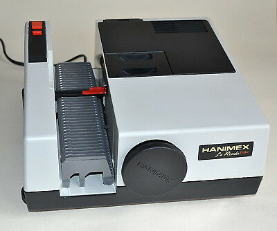 Hanimex Slide Projector La Ronde Series Boxed With Extra Round Slide Magazine