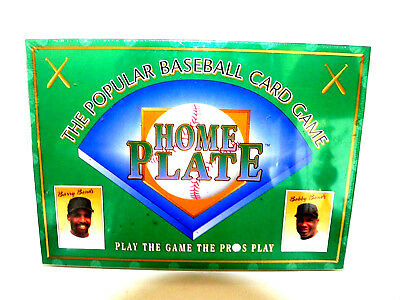 Vintage 1996 Home Plate The Popular Baseball Card Game New Sealed Made in USA