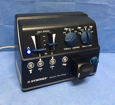 Synthes Electric Pen Drive Standard Console with Irrigation 05.001.000