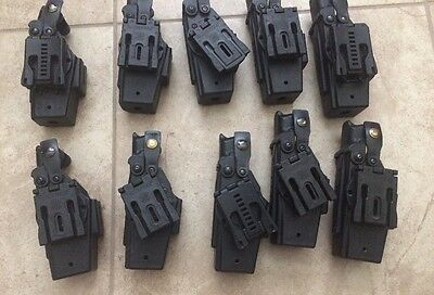 Lot of 10 Blade Tech Holsters For Taser X26 X26C Right Hand