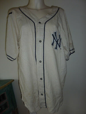 New York Yankees Cooperstown Collection Baseball Shirt Top Sz S