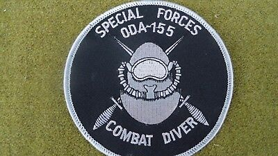 USA Special Forces ODA-155 1st Special Forces Grp  COMBAT DIVER PATCH