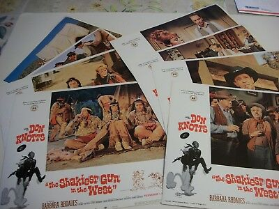 The Shakiest Gun in the West   lobby card set 1968