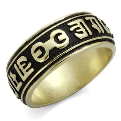 Men's Antique Copper Plated Stainless Steel Fashion Ring TK2471