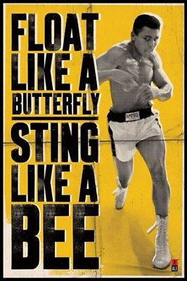 Muhammad Ali Float Like a Butterfly Maxi Poster 61 x 91,5 cm