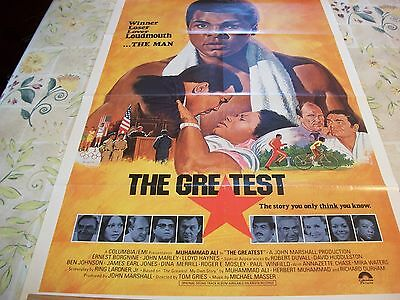 The Greatest  poster 1977
