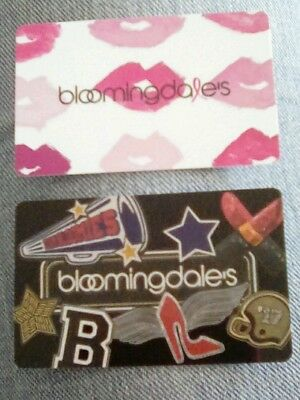 Bloomingdale's Gift Card, Pink Lips, 2017,  Collectible, Mint