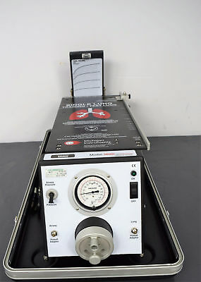 Michigan Instruments 3600i Single Lung Simulator w/ PneuView Training Disc