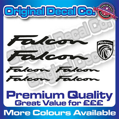 Premium Quality Falcon Bike Decals Stickers mountain bike frame mtb road