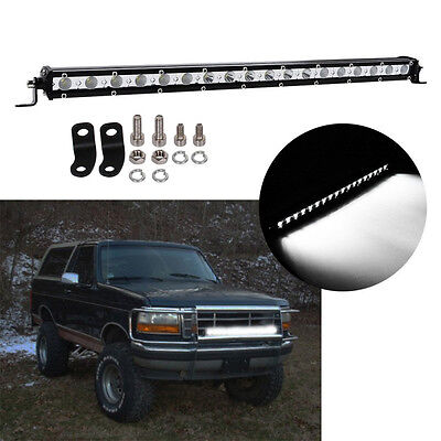 """21"""" Zoll 54W LED Spot Licht Bar Driving Lamp Offroad Arbeitsleuchte SUV ATV JEEP"""