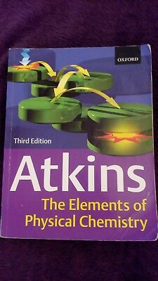 The Elements of Physical Chemistry:  Peter W. Atkins 3rd Edition