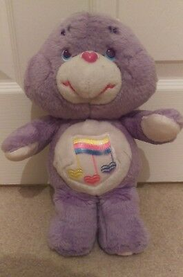 """*reduced* Excellent Condition 13"""" Harmony Care Bear Original Kenner 1987"""