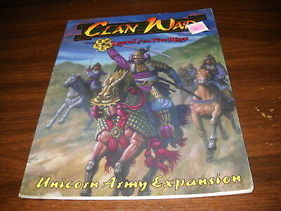 Clan War: Unicorn Army Expansion Rulebook