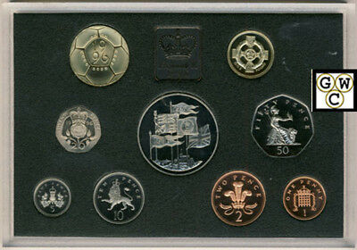 1996 United Kingdom Proof Coin Collection *No Outer Box* (OOAK)