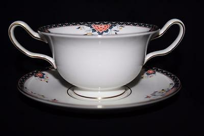 Wedgwood Touraine Soup Coup / Coupe  And Saucer Vgc