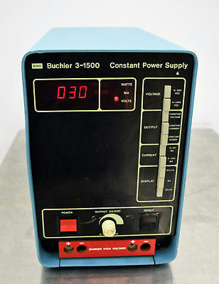 Searle Buchler 3-1500 Constant Power Supply 115 VAC 575W