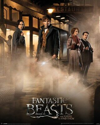 Mini Poster Fantastic Beasts Magical Group 40 x 50 cm