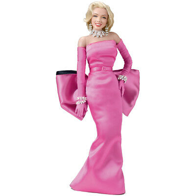 """NEW Marilyn Monroe Diamonds Singing 14"""" Poseable Doll w/ Button Activated Sounds"""