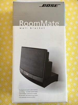 Bose RoomMate Support Mural Blanc Neuf Rare Wall Bracket New
