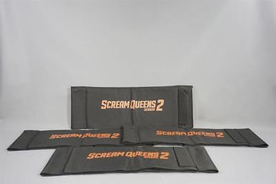 Scream Queens Production Used Chairback Set Ss 2