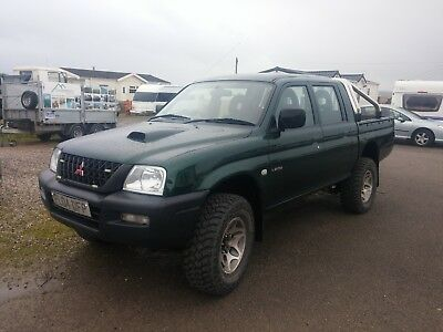 Superb Driving 2004 Mitsubishi L200 Double Cab Pickup With Added Extras