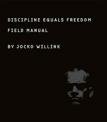 Discipline Equals Freedom: Field Manual by Jocko Willink Hardcover Book Free Shi
