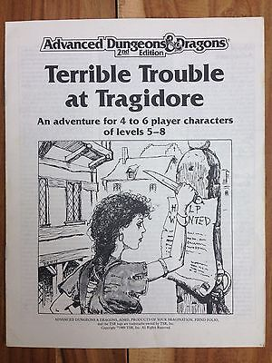 Scenario bundle: Terrible Trouble at Tragidore for AD&D + Into the Darkness (3E)
