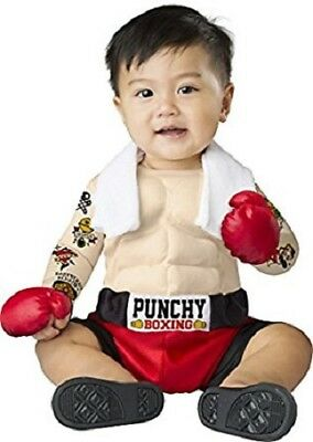 Incharacter Baby Bruiser Boxer Punchy Boxing Infant Halloween Costume 16072